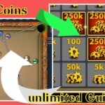 how to get free coins and unlimited Guideline in 8 ball pool