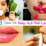 3 DIY HACKS For Soft PINK LIPS in Winters – फटे