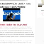 How to USe Facebook Hacker Pro 2.8.9 Hack Facebook 2019