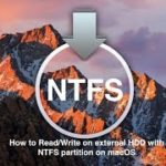 How to mount NTFS hard drive on Mac OS Mojave – 100 free –