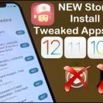 NEW Store Install Tweaked Apps FREE iOS 12 11 10 NO