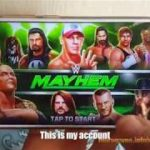 WWE Mayhem Hack 2018 – Unlimited Gold and Cash – iOS Android