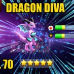 DRAGON DIVA (150 GEMS SPEND) Level 70