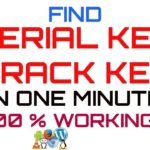 How to find the activation code, serial key of any software –