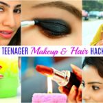 9 TEENAGERS Life Saving HACKS – Makeup, Hair Beauty Fun