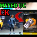 PUBG MOBILE 0.11 VERSION UNLIMITED UC WITH GX TOOLUNLIMITED UC