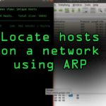 Discover Scan for Devices on a Network with ARP Tutorial