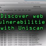 Discover Web Vulnerabilities with Uniscans Terminal or