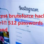 Fastest Instagram bruteforce hacking tool and attackPeh Service