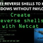 HOW TO GET A REVERSE SHELL BACKDOOR TO HACK WINDOWS WITHOUT ANY