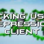 HYPIXEL SKYWARS HACKING ON DEPRESSION CLIENT