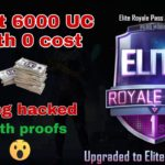 I got 6000 UC with 0 cost ? Pubg 100 hacked, with proofs, how