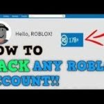 How to hack any accounts in roblox (june 18 2019)