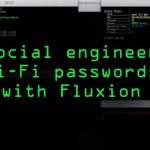 Social Engineer Wi-Fi Passwords with Fluxion Tutorial