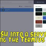 Using the Termius app to log into any server with SSH, Mosh, or