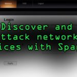 Discover Attack Network Devices with Sparta Tutorial