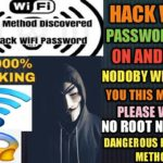 HOW TO HACK WIFI PASSWORD ON ANDROID WITHOUT ROOT 100 WORKING