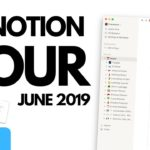 How I Use Notion ● June 2019
