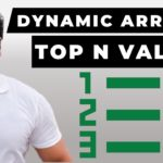 🥇🥈🥉Top N Values Easy Solution with NEW Dynamic Arrays