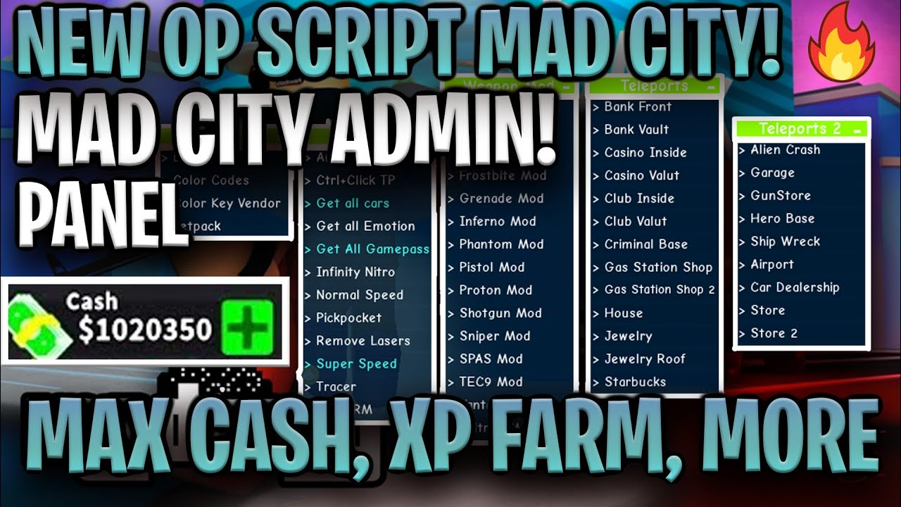Roblox Game Pass Download Working Best Script Hack Mad City Free Gamepass