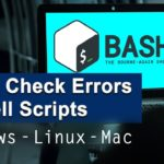 Easily check errors in shell scripts using ShellCheck on