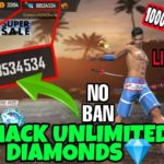 How To Hack Free Fire Unlimited Diamonds 1000 Working Trick