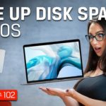 Mac Tips – Free Up Disk Space on Your Mac – DIY in 5 Ep 102
