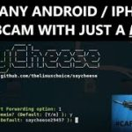 Hack any AndroidIPhone front Cam over WANINTERNET to take