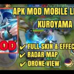 APK MOD MOBILE LEGENDS KUROYAMA TOOLS PATCH MASHA S14 NO ROOT