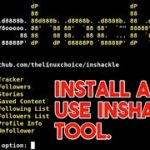 How To Install And Use Inshackle Tool In Termux