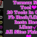 Termux New Hacking Tool 2019Insta Hack FB Hack and Much MoreFB