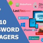 🔝 Top 10 Password Managers 🔑 for Computers 🖥️ and