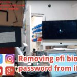 Getting rid of iMac bios efi password