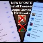 NEW Install Tweaked Apps Games FIX Revokes iOS 13 – 13.3 12