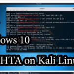 Access Windows with HTML Application on Kali Linux