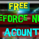 Free Geforce Account Giveaway giveaway