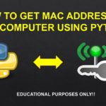 How to get MAC address of any computer using python
