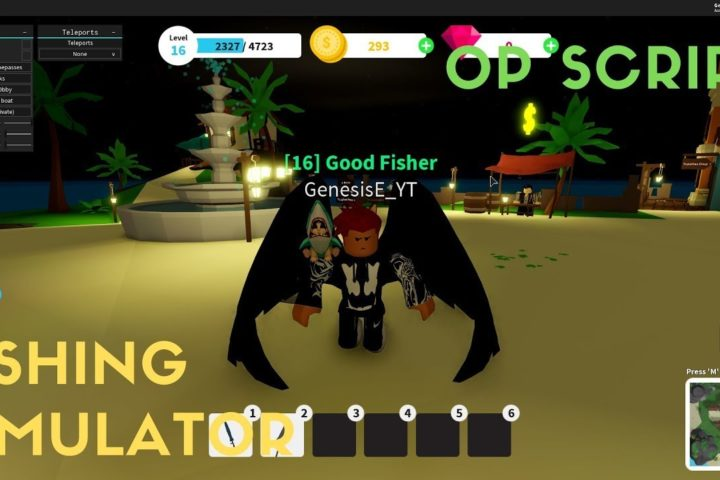 New Fishing Simulator Hackscript Op Script Roblox