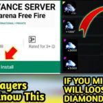 Free Fire Download Advance Server And Get 5000 Diamonds – No