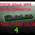 HACK CRACK WIFI ☀️WIFISLAX☀️:🔥WPSPIN Attack WPA with