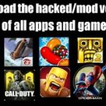 How To Download The HackMod Version Of Any Apps Or Games Hack