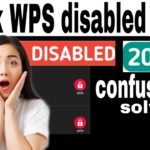 How to hack WPS disabled Wifi password full guide confusion