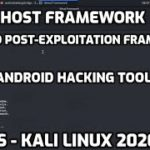 Android Hacking Exploitation Tool GHOST FRAMEWORK
