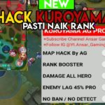 CHEAT MAP HACK KUROYAMA AG PRO TERBARU AUTO NAIK RANK