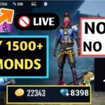 HOW TO GET UNLIMITED DIAMONDS IN FREE FIRE NO APPS NO HACK