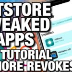 NEVER REVOKES Install Tweaked Apps Using NEW Altstore Mac
