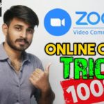 Zoom Online classes Trick in Telugu With live Demo How to