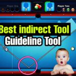 8 Ball pool Best indirect guideline tool – antiban longline tool