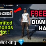 Free Fire Diamonds Hack Free Fire Unlimited diamonds hack