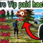 HOW TO DOWNLOAD FREEFIRE VIP PAID HACK FOR FREE 2020 Freefire